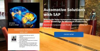 Book Launch Automotive Solutions with SAP