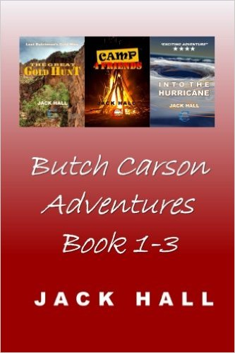Butch Carson Adventures Book 1-3