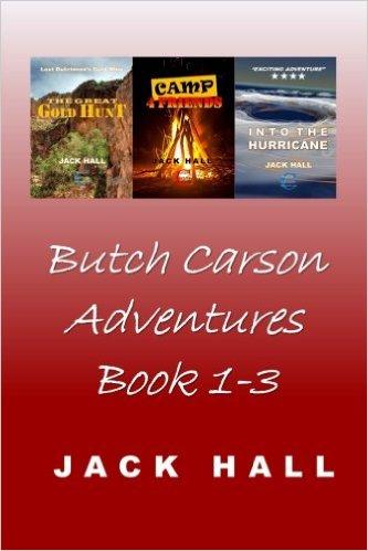 Butch Carson Adventures Book 1-3