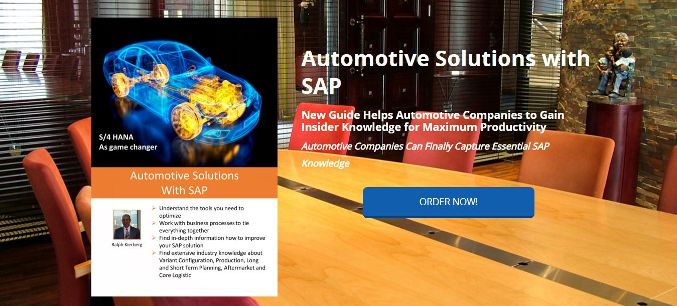 Automotive Solutions with SAP bookforces