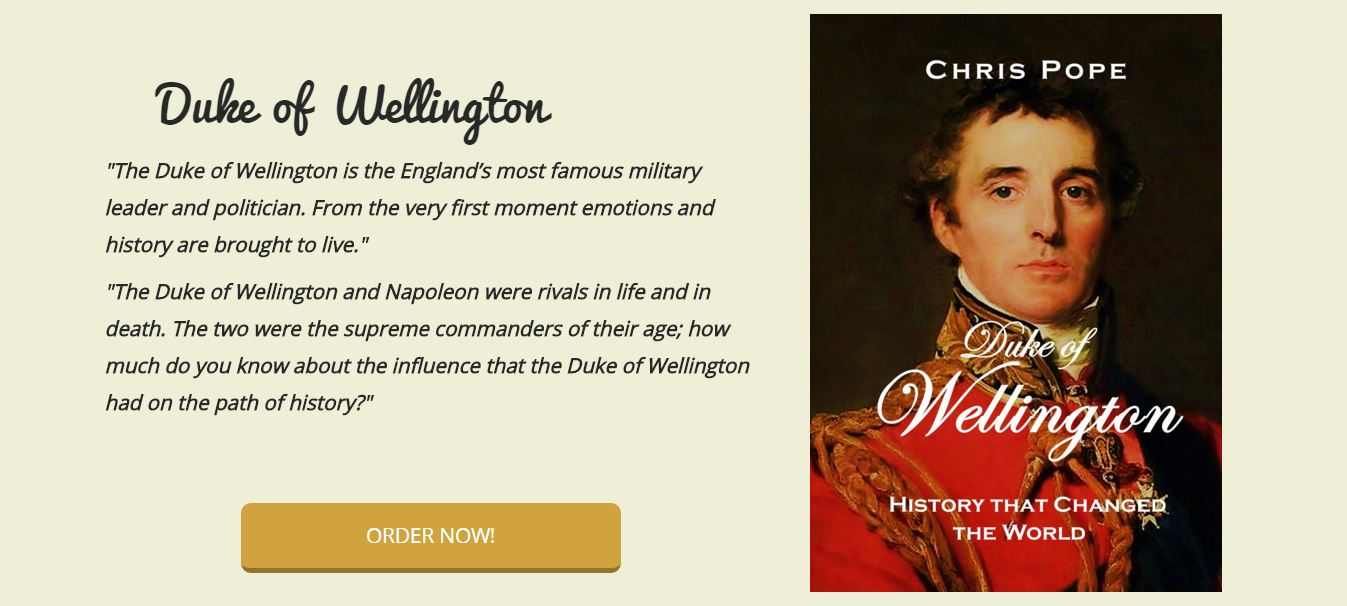 booklaunch Duke of Wellington