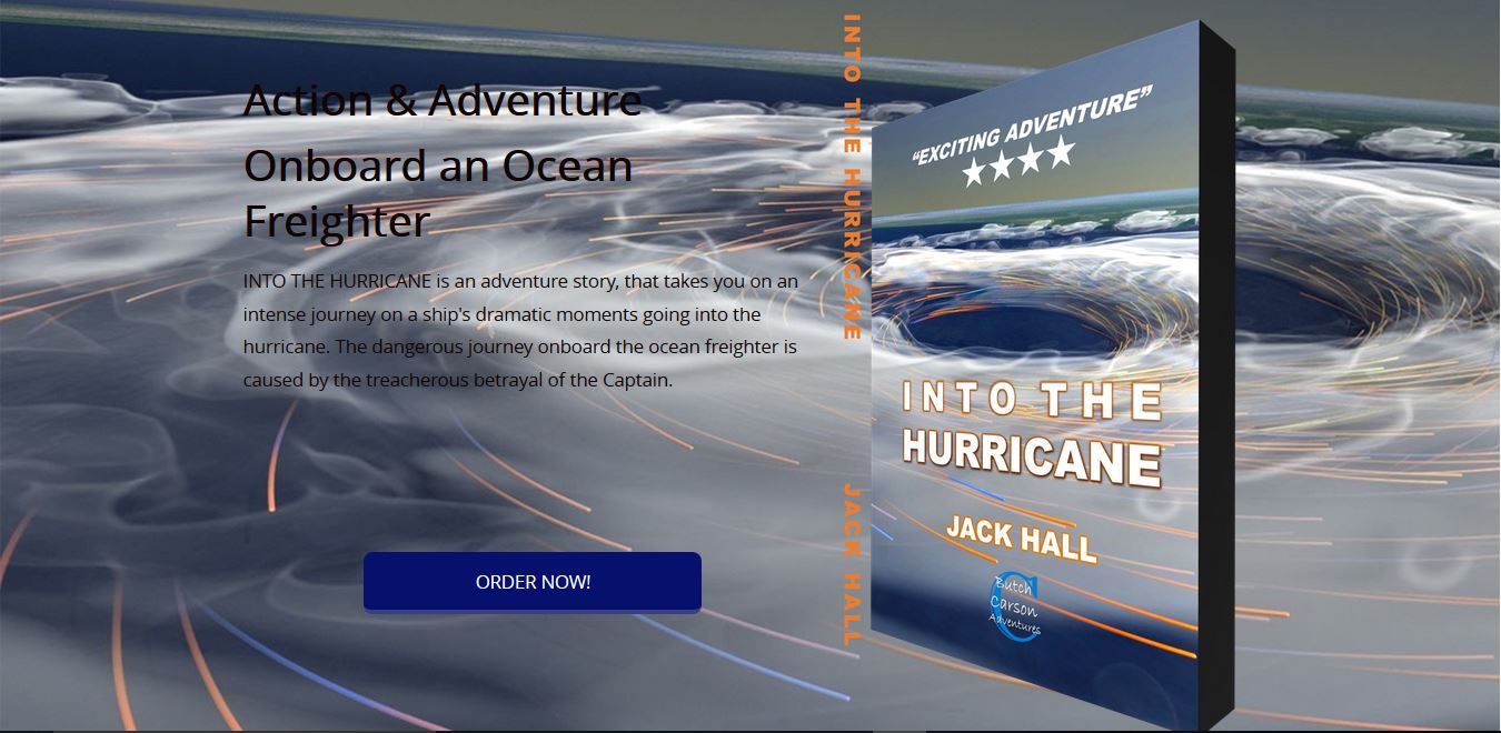 BookLaunch Into The Hurricane