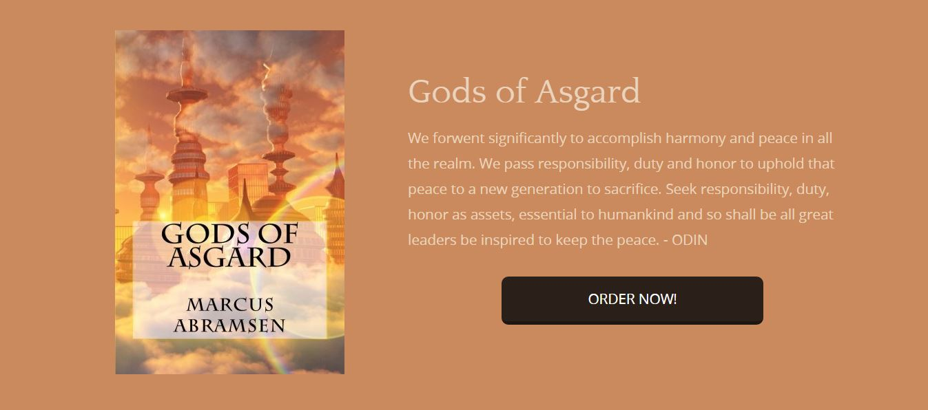 Gods of Asgard realm harmony peace bookforces