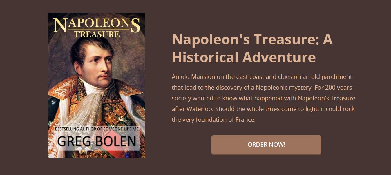 Napoleons Treasure bonaparte mystery gold bookforces