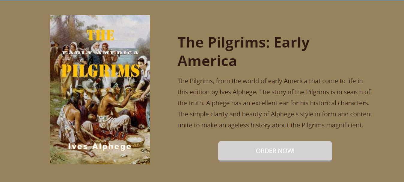 The Pilgrims Early America historical bookforces